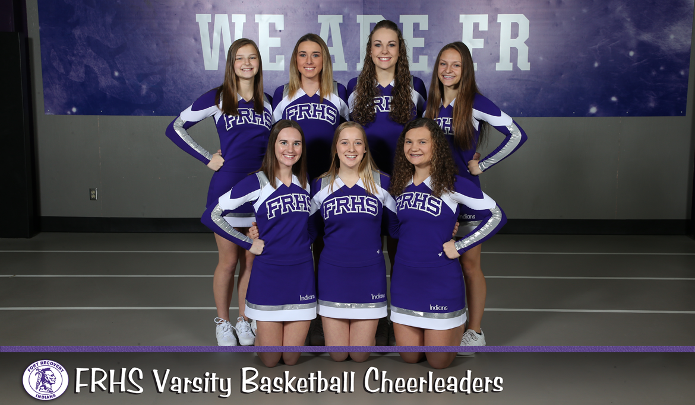 2019-2020 Varsity Basketball Cheerleaders