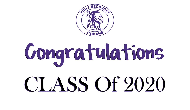 Congrats FRHS Class of 2020